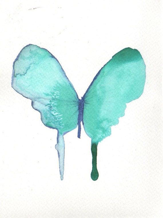 pale turquoise green butterfly
