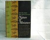 Vintage Book Nature In Minature Richard Headstom Naturalist