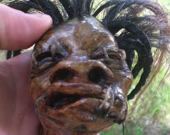Shrunken Head Replica Ghetto George Taken from the H.Potter Prop 2005