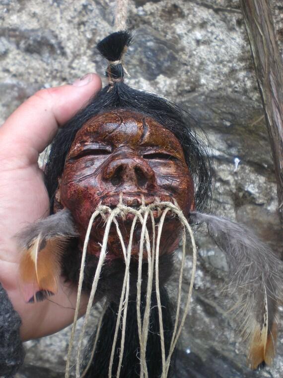 Amazonian Pigmy Replica Shrunken Head
