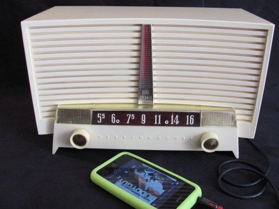 Westinghouse AM Radio iPod Ready 1955