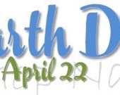 Earth Day Banner for Your Etsy Shop or Blog