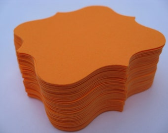 200 Square Top Notes. 2.5 inch. CHOOSE YOUR COLORS. Wedding, Favors, Place Cards, Table Cards. Fancy.