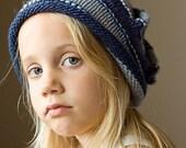 PDF KNITTING PATTERN Kid's Child's Slouchy Hat