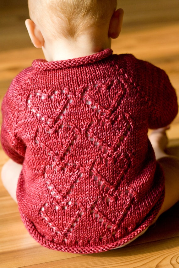 Items similar to PDF Knitting Pattern Seamless Baby ...