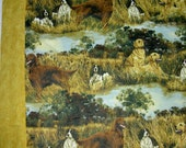 Bird Hunting dogs large throw Canadian Blanket ***FREE SHIPPING*** Made in USA