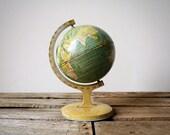 J. Chein & Company Lithograph Tin World Globe