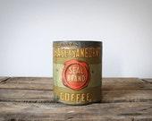Chase & Sanborns Seal Brand Coffee Tin