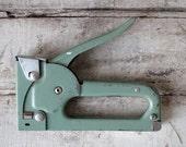 Vintage Turquoise Staple Gun