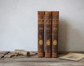 Set of 3 Vintage Books: The Book of Popular Science, 1924