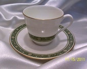 Cup and Saucer, Collectible Cup and Saucer, Tea Cup, China Cup, Porcelain Cup and Saucer, Coffee Cup, Fine China