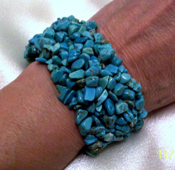 Turquoise Bracelet - Cuff - Jewelry