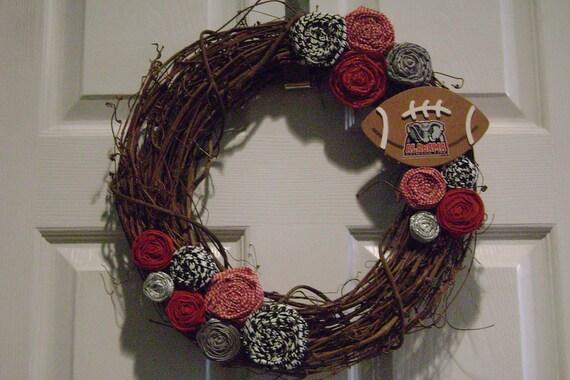 Alabama Crimson Tide Grapevine Wreath