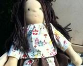 "16-17"" Waldorf Inspire Doll, Brown hair, Green Eyes"