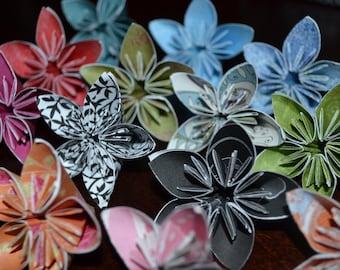 Origami Kusudama Flower ,paper flowers