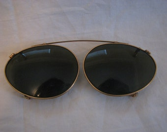 Vintage 1940's American Optical Clip-Ons