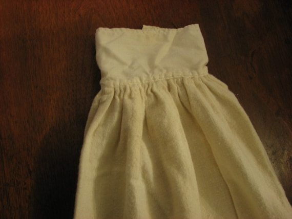 100 Year Old Victorian Doll Winter Slip For Under Christening Gown