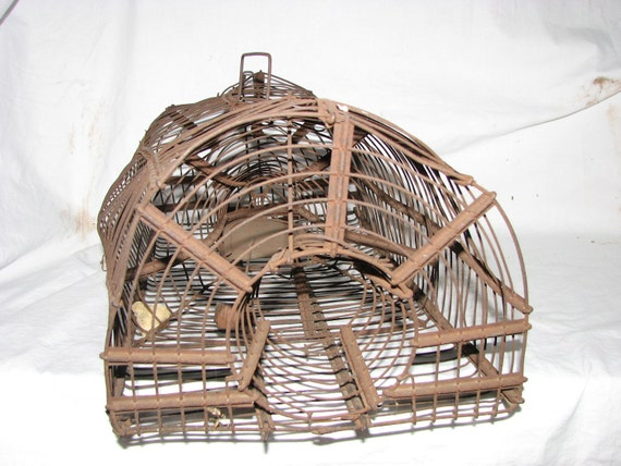 Mouse Trap Gothic Victorian Wire Cage  Largest