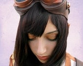 Steampunk, Nouveau-Rustic Goggles.