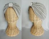 Handmade  turban hat headband boho style