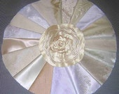 20 PCS Whites/ Off White Fancy Fabric for Crazy Quilts, Art Quilts & Art projects
