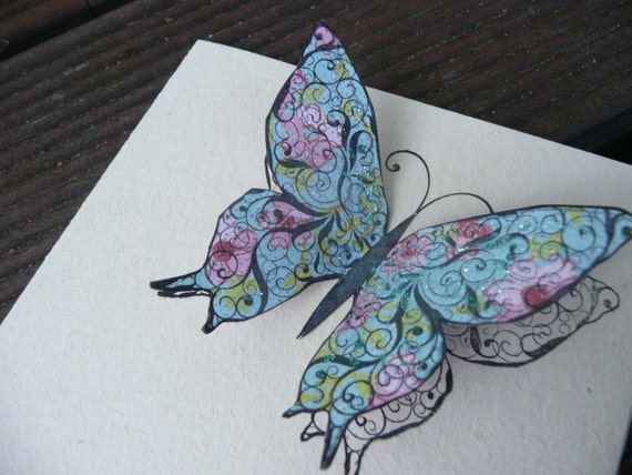 Butterfly - 100% Recycled Cards