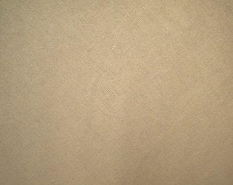 Wide  beige linen cotton 1yard linen fabric (55 x 36 inches)