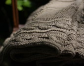 YOSUN - a hand-knit BABY BLANKET for spring adventures and more - Free Shipping -