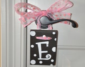 Wooden Wall Letter E - 3 1/2 x 5