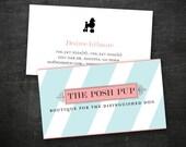 Starter Print Package - logo and business card custom design
