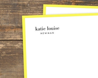 Lemon Luxe Letterhead - Digital Download - Printable