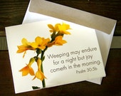 Sympathy Scripture Notecard Set of Eight