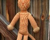 Knitting pattern PDF - Stranded Colorwork Cat