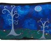 The Couple Cosmetic Bag by Salvador Kitti -  From My Original Painting, The Couple