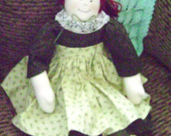 Green With Envy Rag Doll