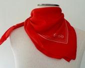 Vintage Cacharel Paris Silk Scarf