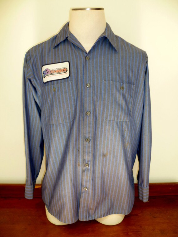 Vintage Mens 72 Degrees Work Shirt - L