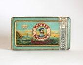 Antique Cigarette Tin Box