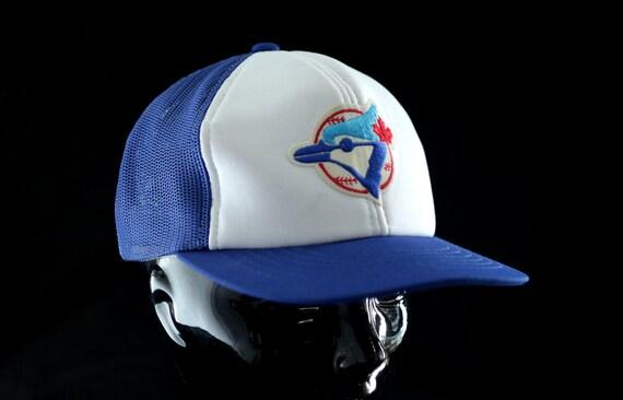 Toronto Blue Jays Trucker Hat - Vintage 1970s 1980s Major League Baseball Cap