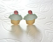 Mint Cherry Cupcakes by Eclectic Funk by Kaila J