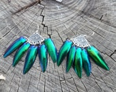 Alluring Dancer - Egyptian Beetle Wings - Gift for Her