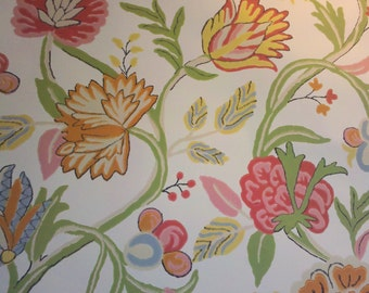 Brights on white wallpaper