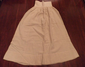 Antique Wool Baby Underskirt, Vintage Baby Clothes, Vintage Wool