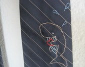 Blue Whale Necktie