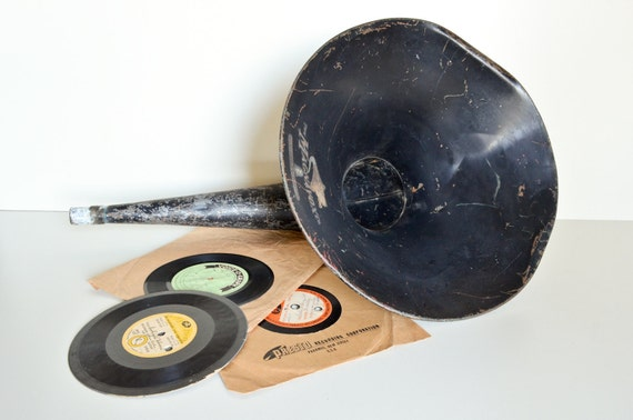 Old Record Player Horn