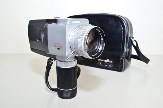 Minolta Super 8 Movie Camera K11 Autopak