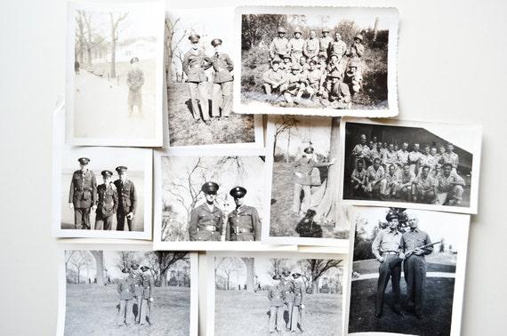 Thirteen Vintage Wartime Photographs