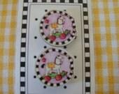 Mary Engelbreit Designer Buttons, Rocking Horse, Children's Hobby Horse Toy