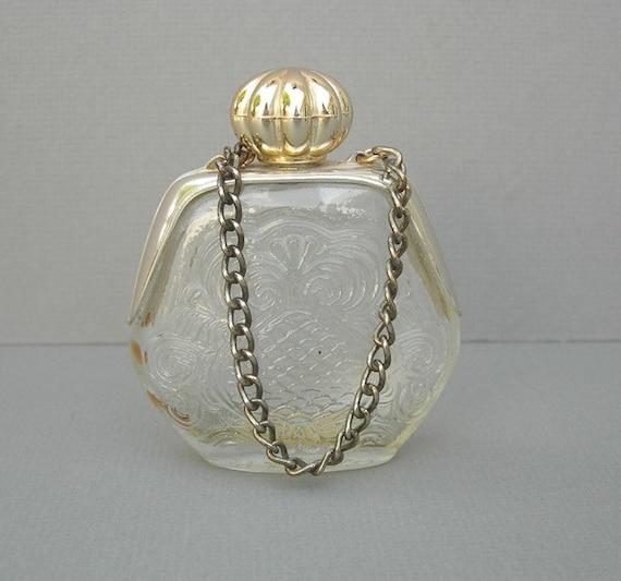 Vintage Avon Purse Petite Perfume Bottle