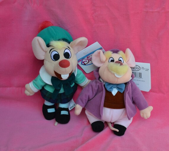 Disney The Great Mouse Detective Movie Olivia And Dawson Plush